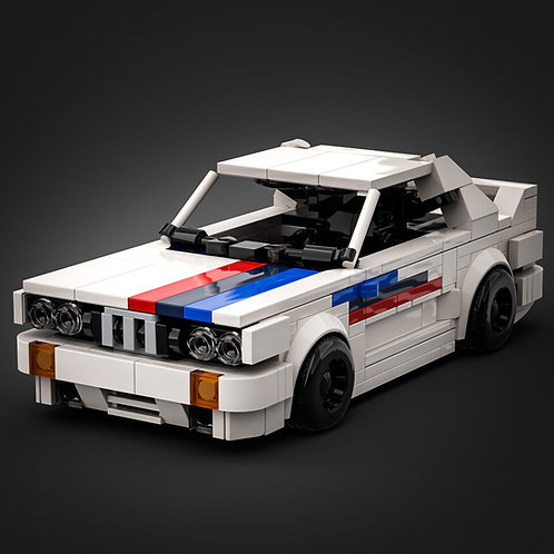 Inspired by BMW E30 M3 - Race Version (instructions)