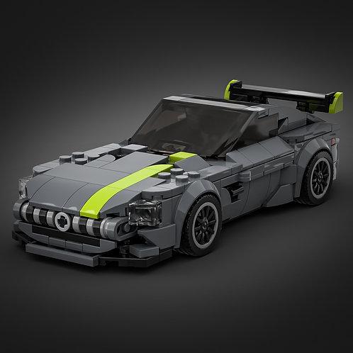 Inspired by Mercedes AMG GTR - Dark Grey