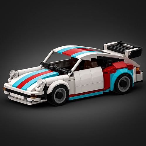 Inspired by Porsche 930 Turbo - Martini (instructions)
