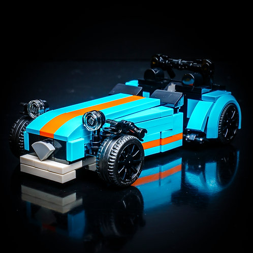 Inspired by Caterham 620R (Medium Azure) - Set