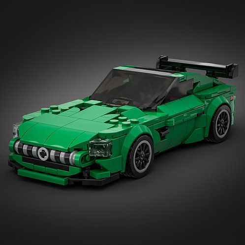 Inspired by Mercedes AMG GTR - Green