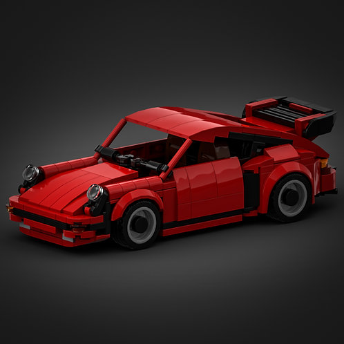 Inspired by Porsche 930 Turbo - Red (instructions)