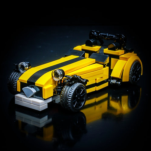 Inspired by Caterham 620R (Yellow) - Set