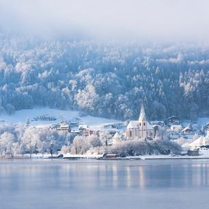Maria Wörth im Winter - © Kärnten Werbung, Franz Gerdl