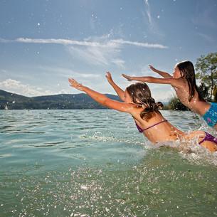 Badespaß in Kärnten - © Kärnten Werbung, Steinthaler
