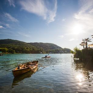 Ruderboot am Wörthersee - © Kärnten Werbung, Steinthaler