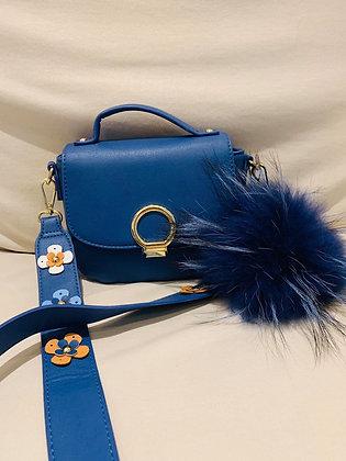 Blue Flower & ponpon
