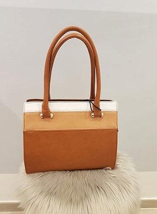 Leather Charm Handtas