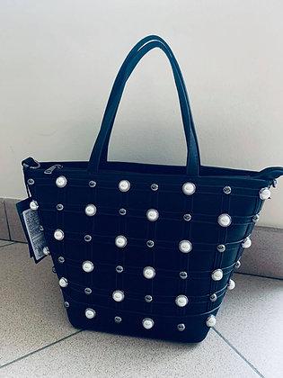 Luster pearls black