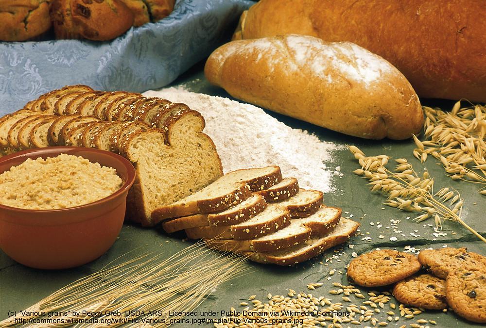 Breads and grains, coeliac disease testing