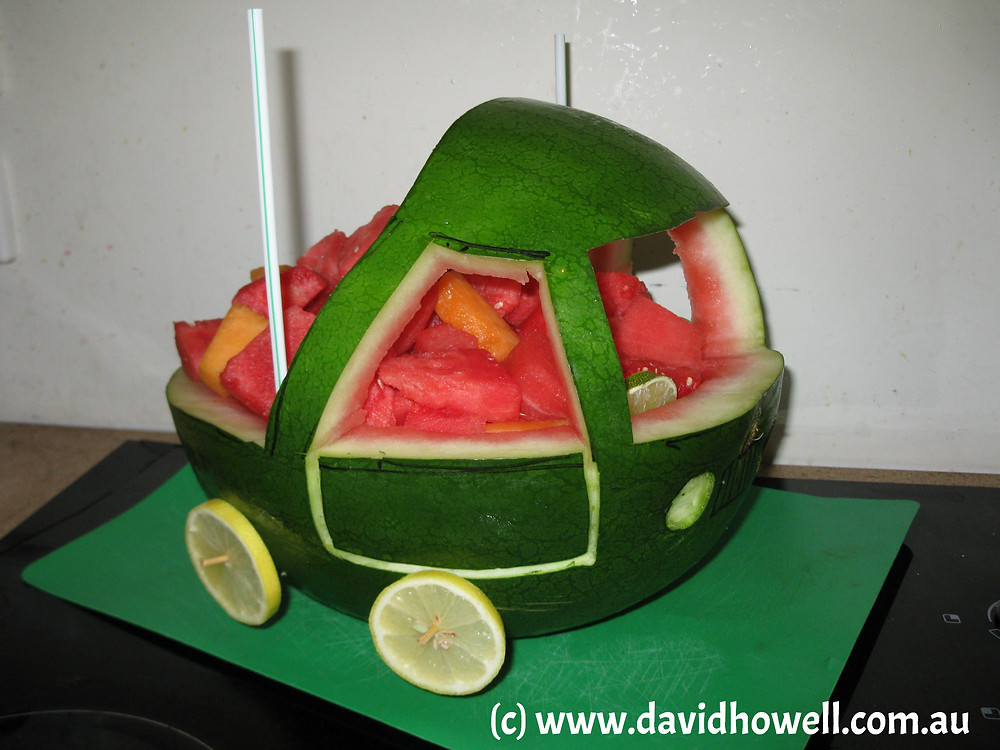 Watermelon Birthday Cake Recipe