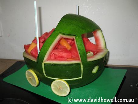 Easy & Healthy Birthday 'Cake'