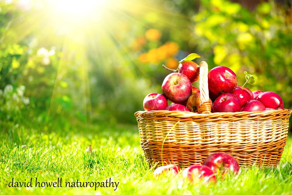 Organic Apples, Organic food