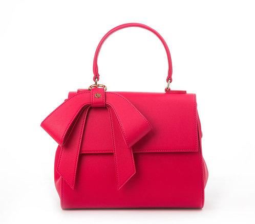 Cottontail Raspberry Vegan Bag