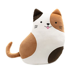 Cat Plushie Brown