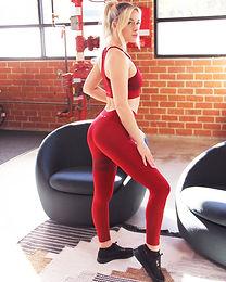 Ashton Set - Sports Bra & Leggings - Red