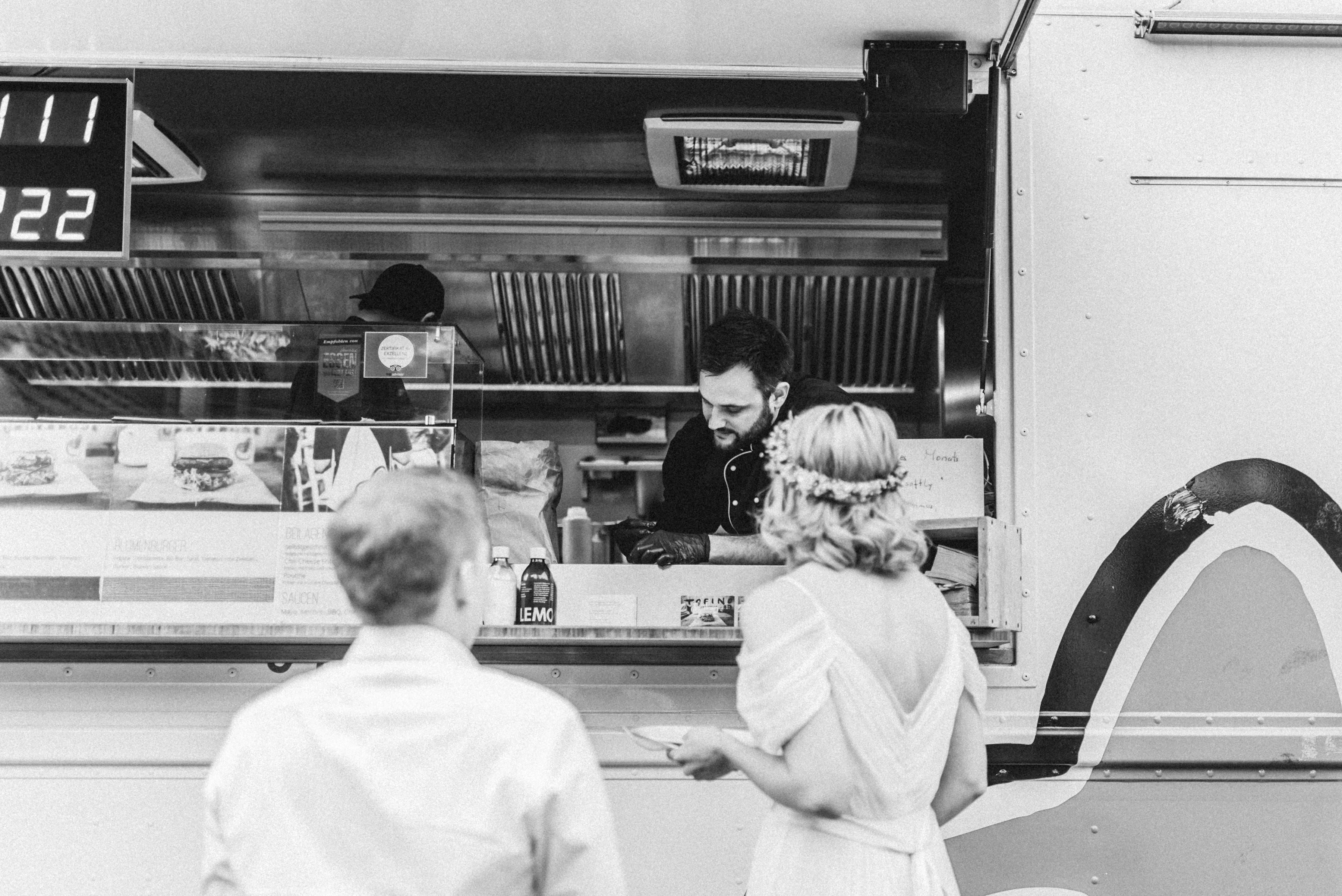 Food Truck Catering für 45 Personen