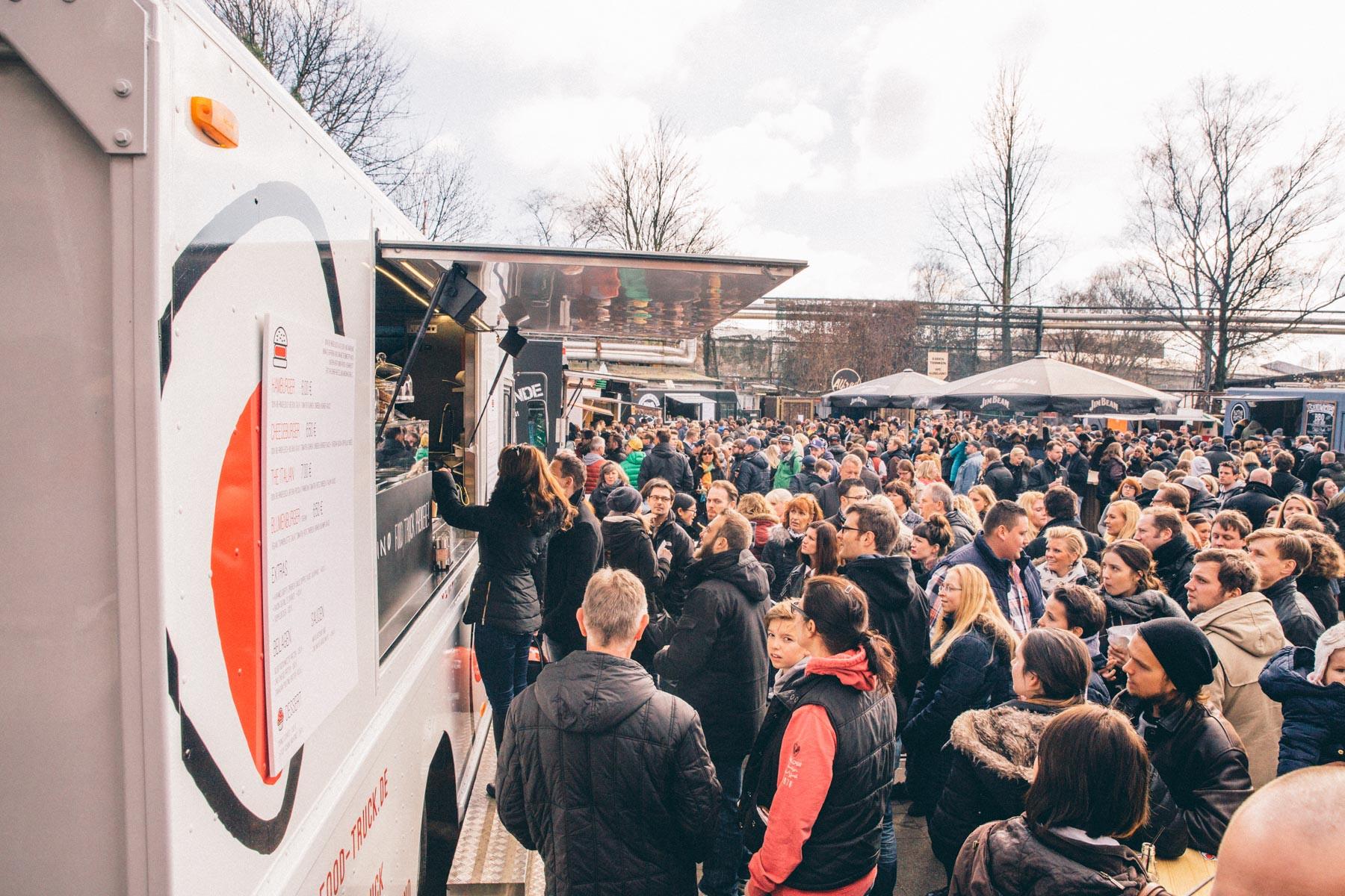 Food Truck Catering für 200 Personen