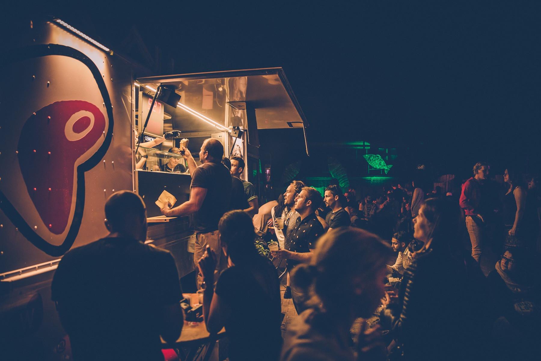 Food Truck Catering für 150 Personen