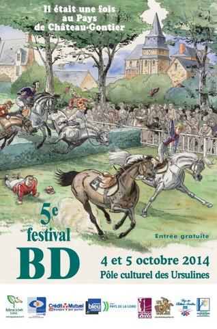 Festival bd du pays de Château-Gontier les 4 et 5 octobre