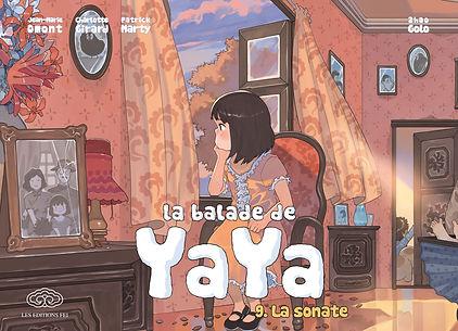 La balade de Yaya, tome 9, yaya, fei, jeunesse, les éditions fei, bande dessinée chinoise, golo zhao