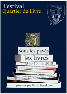 Festival Quartier du Livre à Paris 2018