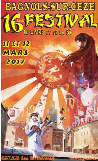Exposition et Festival du Livre et de la BD de Bagnols
