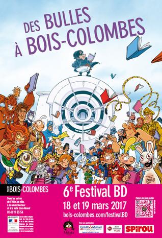 Festival des Bulles à Bois-Colombes