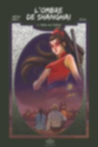 L'ombre de Shanghai, éditions fei, bande dessinée chinoise
