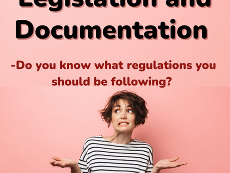 Do you know what regulations you should be following?
