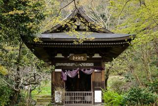Shinto shrine at Engakuji Buddhist Temple