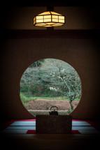 The Moon Window, Meigetsu-in Temple, Kamakura