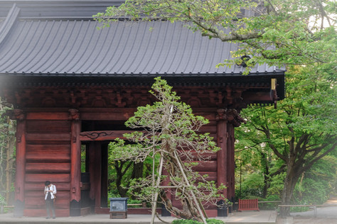 Main gate Myohonji Temple, Kamakura