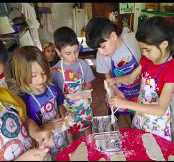 niños cocinandoo