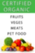 Certified organic produce brisbane
