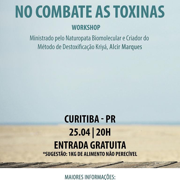 WORKSHOP - Mais uma ferramenta no combate as toxinas