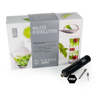 Molecular Mojito Kit + Culinary Tools - Mojito R-Evolution