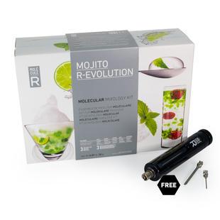 Molecular Mojito Kit + Culinary Tools - Mojito R-Evolution