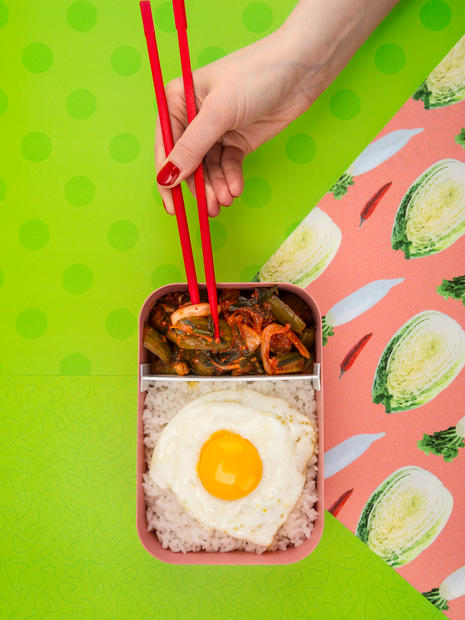 Kimchi Bokkeumap