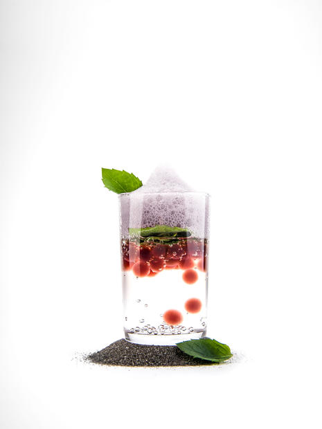 DECONSTRUCTED MOJITO