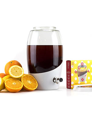 Mortier Pilon_Kombucha Jar + SCOBY_With