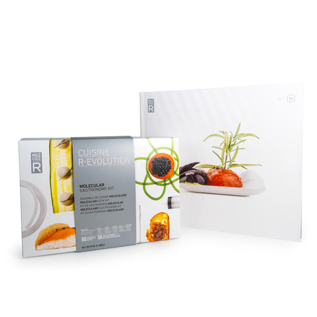 Molecular Gastronomy Kit + Recipe Book Cuisine R-Evolution