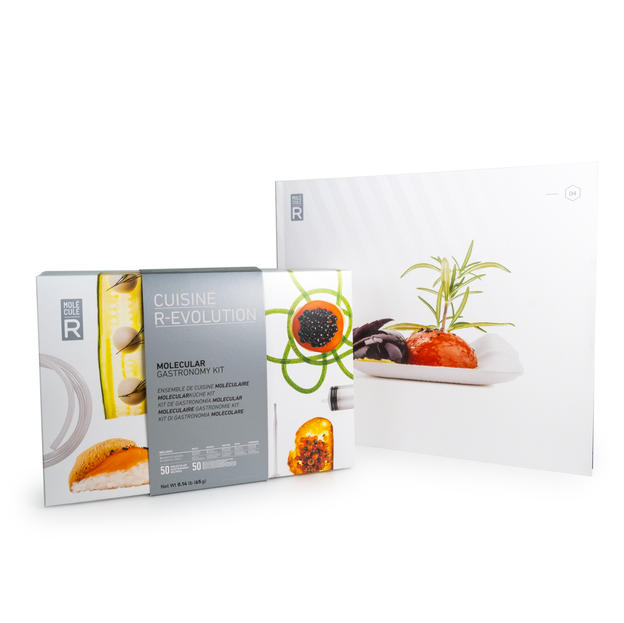 Molecular Gastronomy Kit + Recipe Book Cuisine R-Evolution