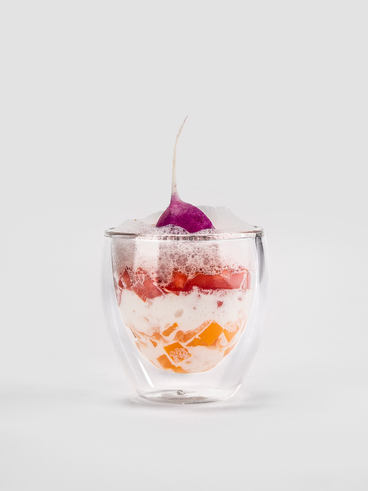 Modernized Savoury Parfait