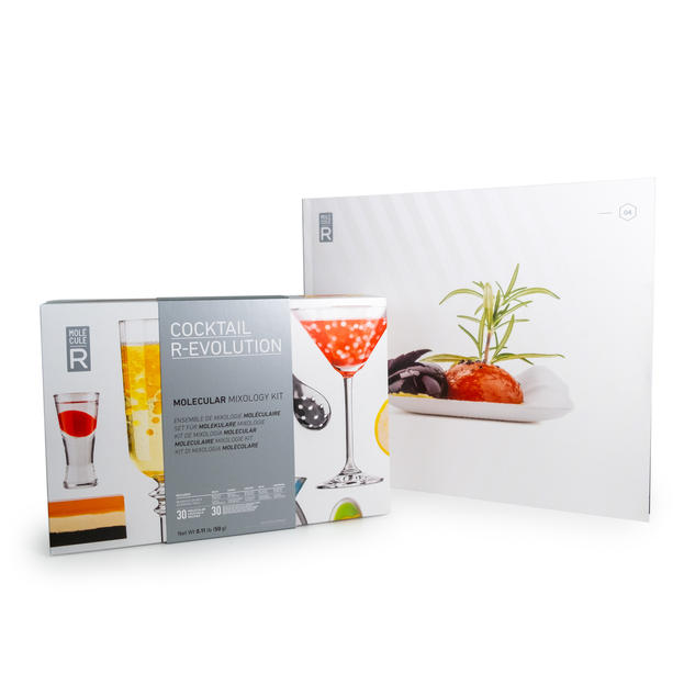 Molecular Mixology Kit + Recipe Book Cocktail R-Evolution