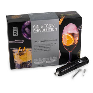 Molecular Gin Kit + Culinary Tools - Gin & Tonic R-Evolution