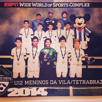 Meninos da Vila at Disney Cup