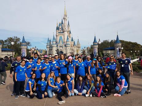 Colegio Garriga at Disney