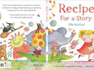 'Recipe for a Story' cover!