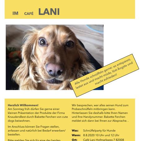 8.8.2020 Schnüffelparty im Café Lani